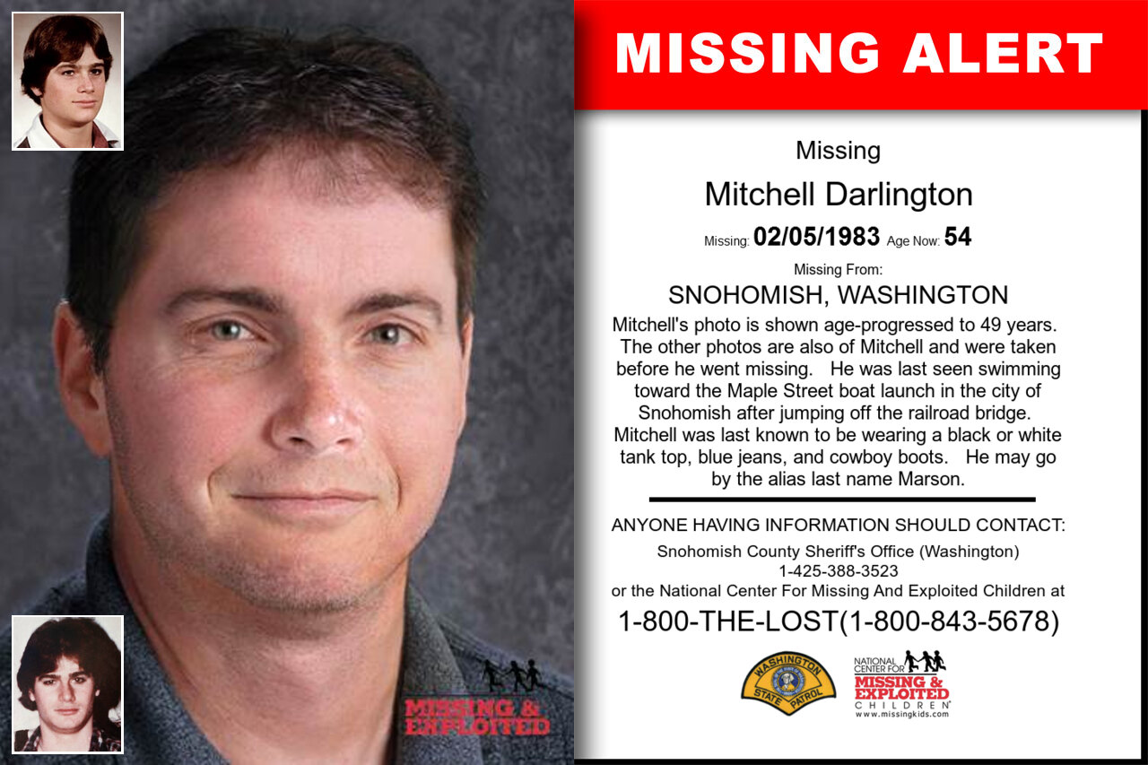 MITCHELL_DARLINGTON missing in Washington
