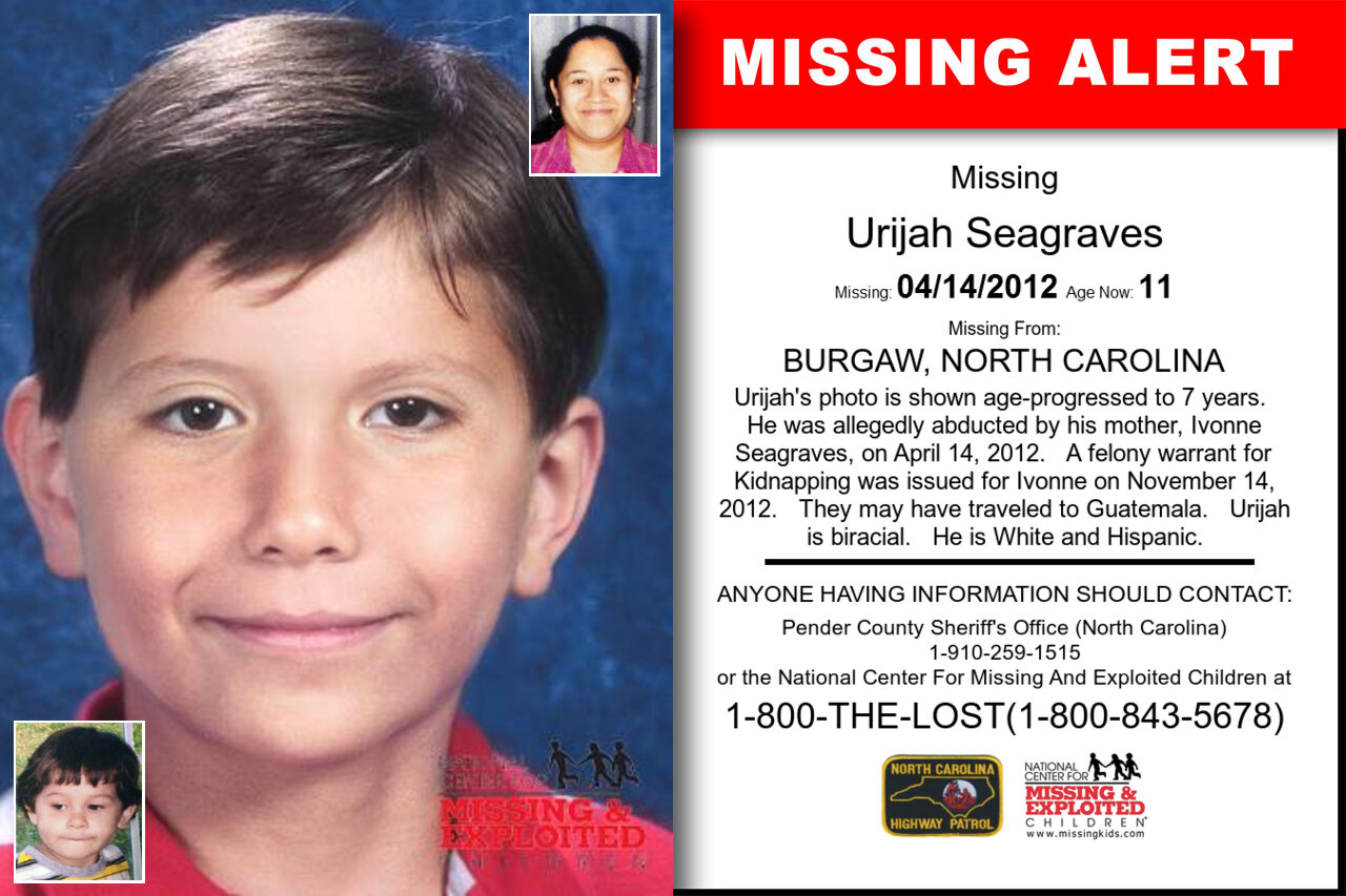 URIJAH_SEAGRAVES missing in North_Carolina