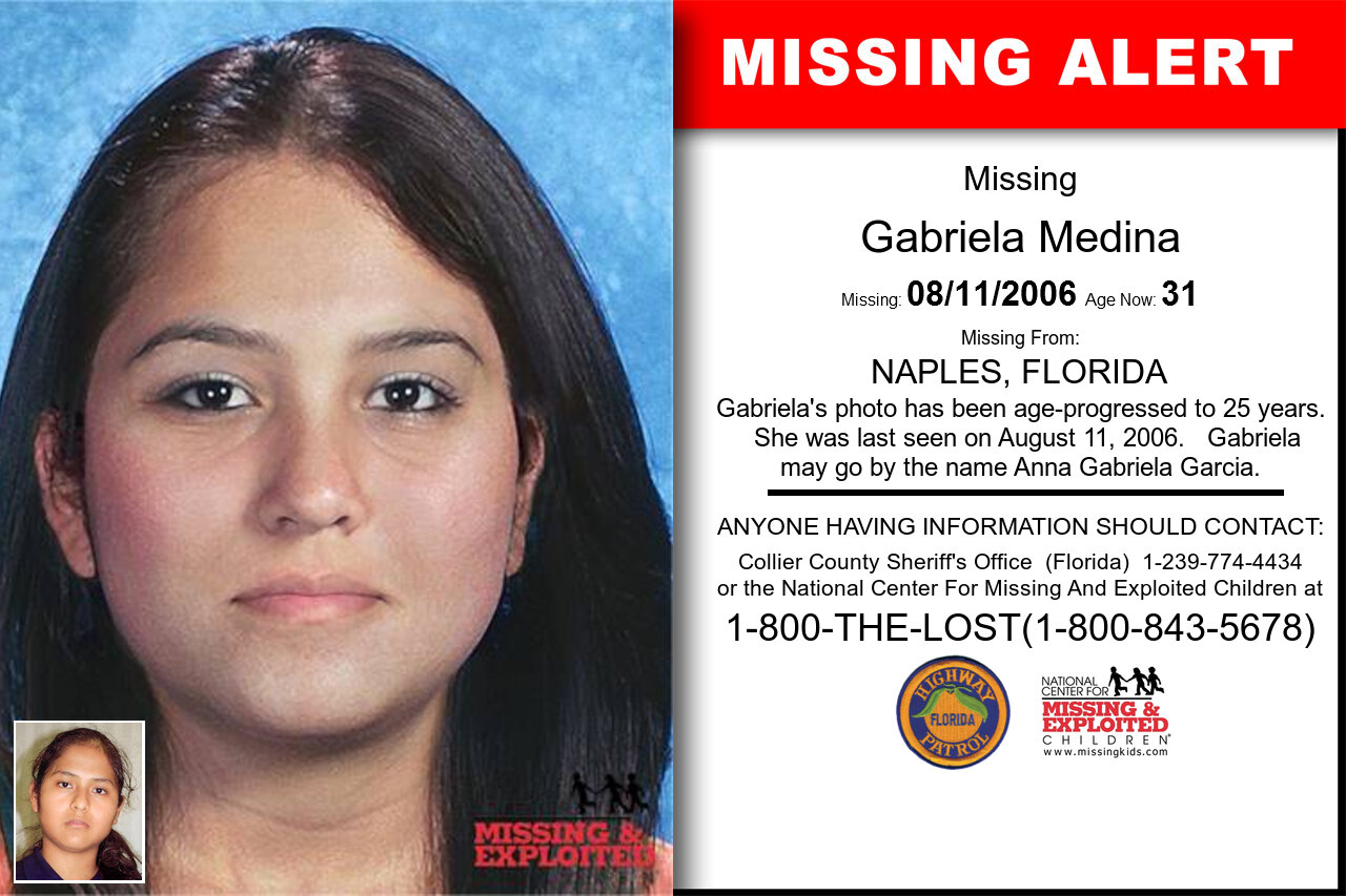 Gabriela_Medina missing in Florida