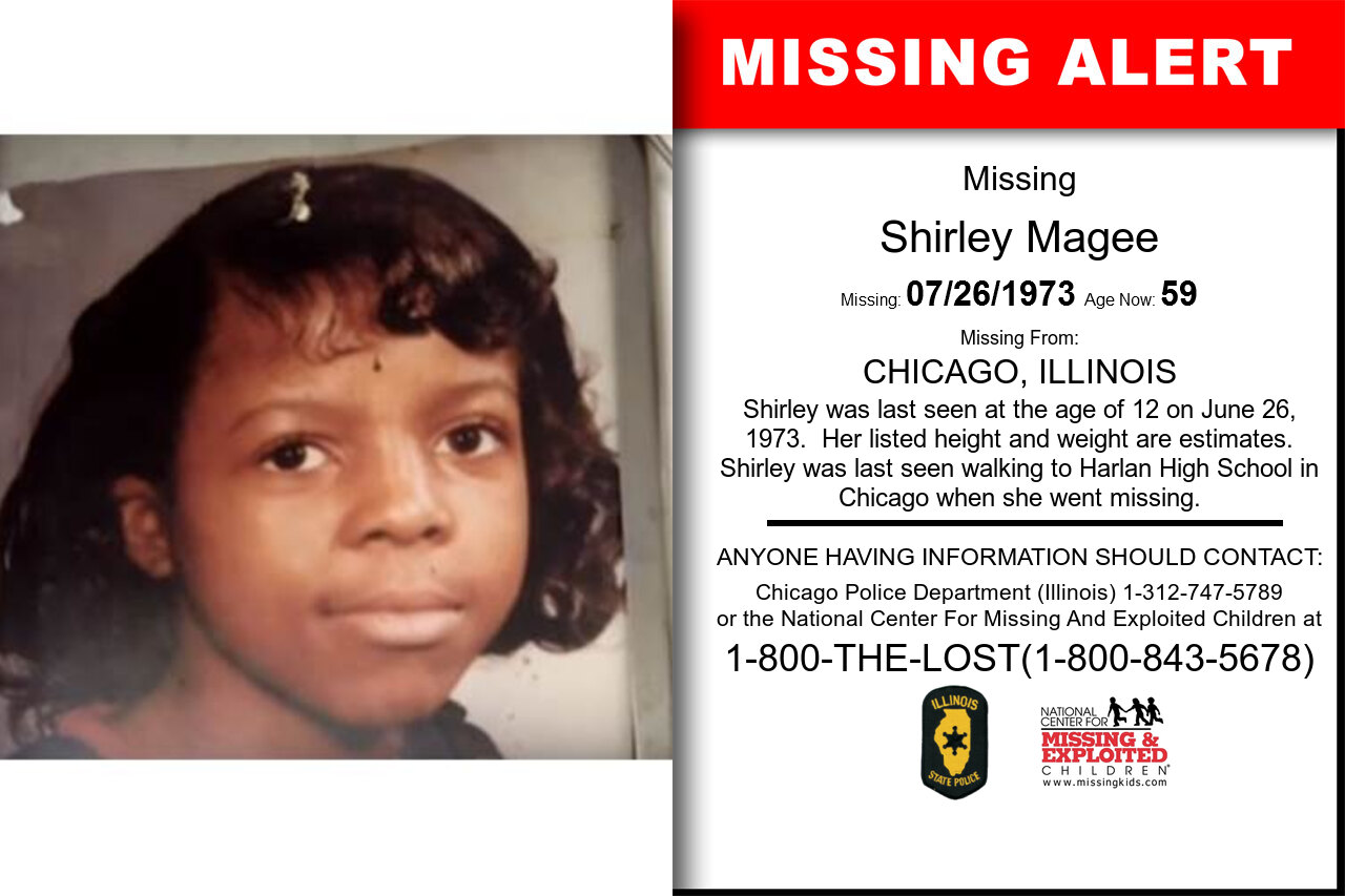 SHIRLEY_MAGEE missing in Illinois