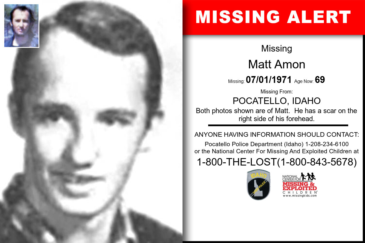 Matt_Amon missing in Idaho