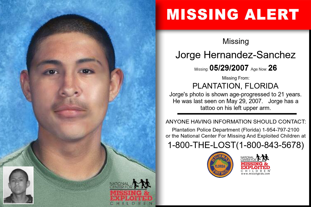 JORGE_HERNANDEZ-SANCHEZ missing in Florida