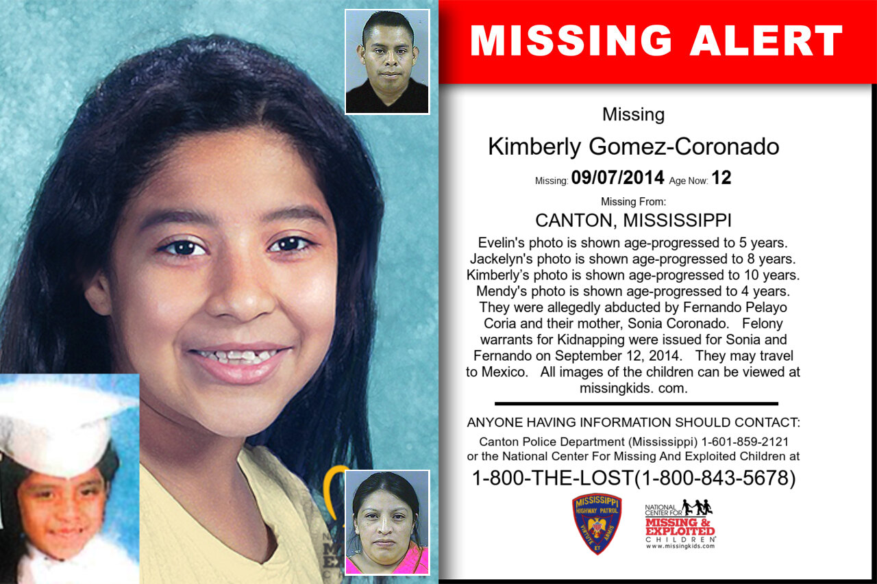 KIMBERLY_GOMEZ-CORONADO missing in Mississippi