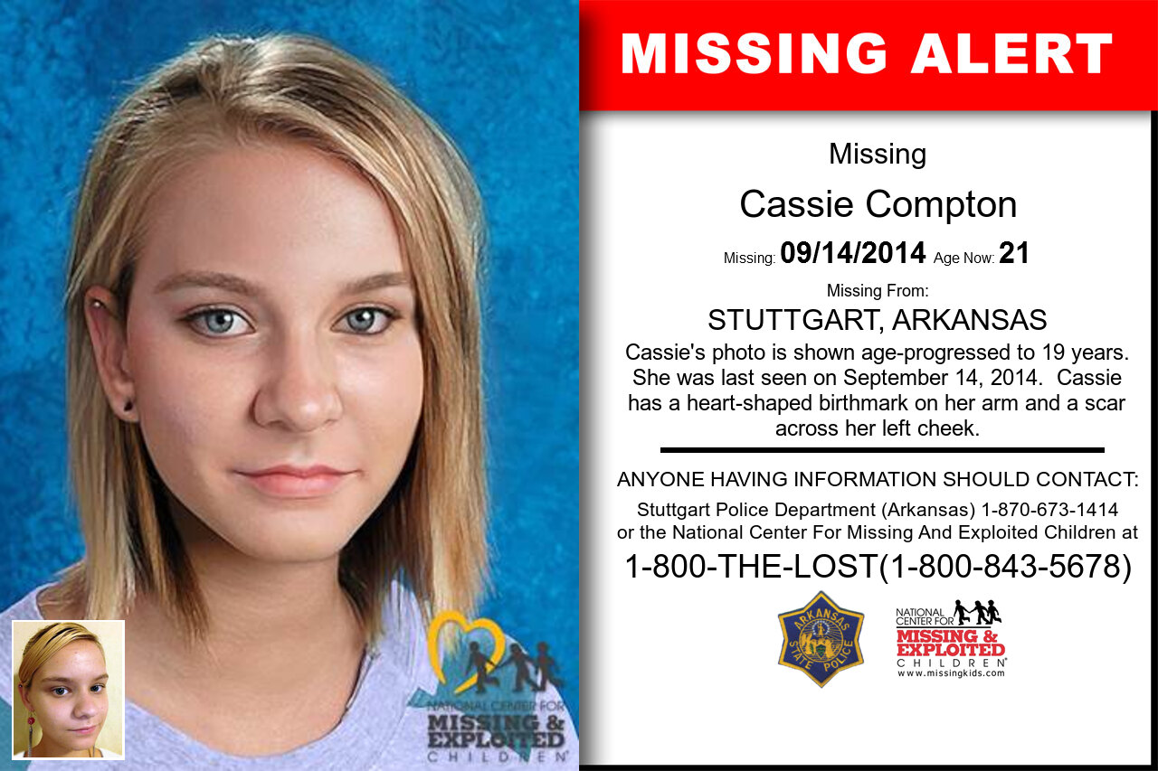 CASSIE_COMPTON missing in Arkansas