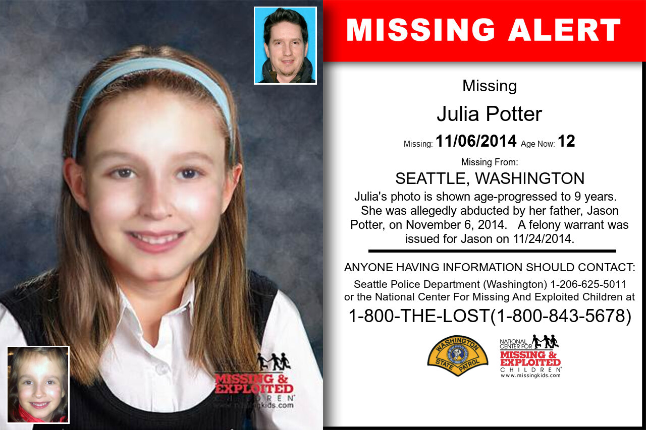 JULIA_POTTER missing in Washington
