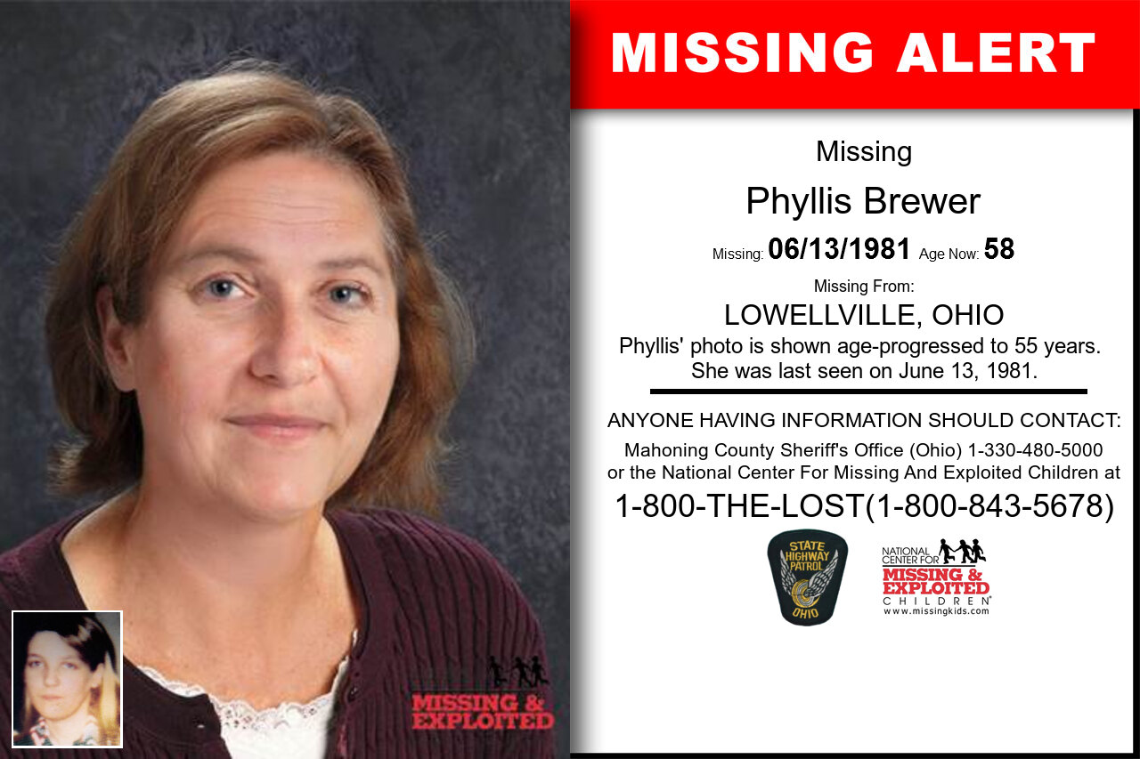 PHYLLIS_BREWER missing in Ohio