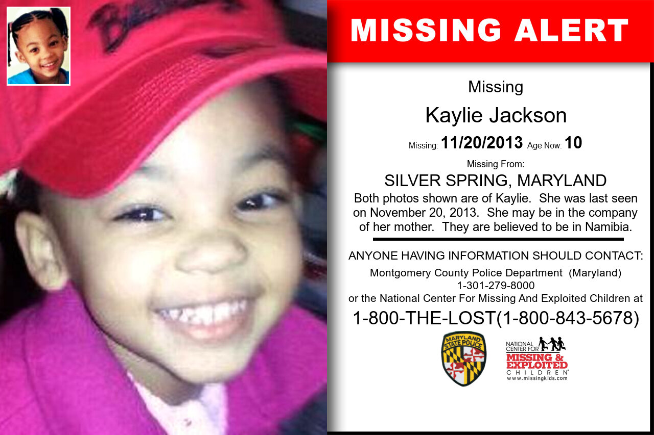 KAYLIE_JACKSON missing in Maryland