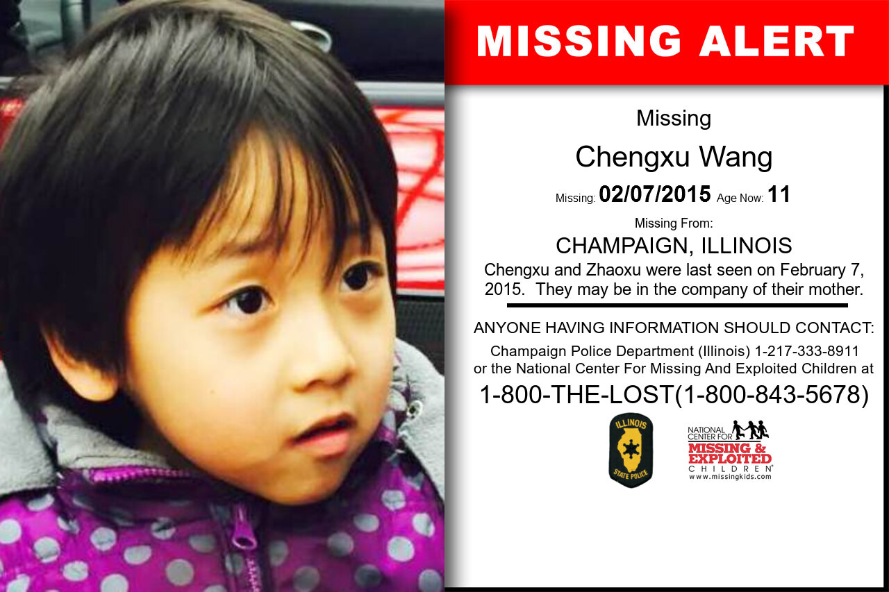 CHENGXU_WANG missing in Illinois