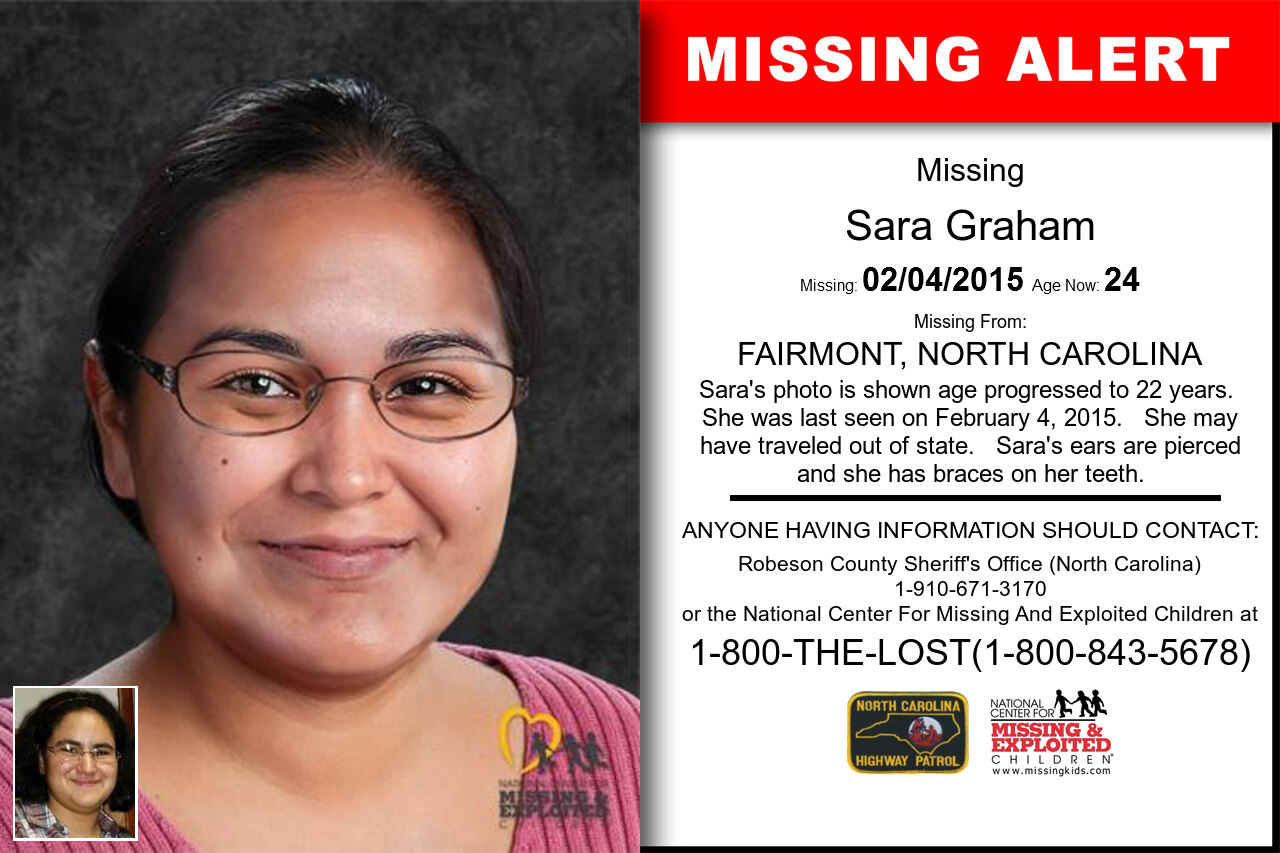 SARA_GRAHAM missing in North_Carolina