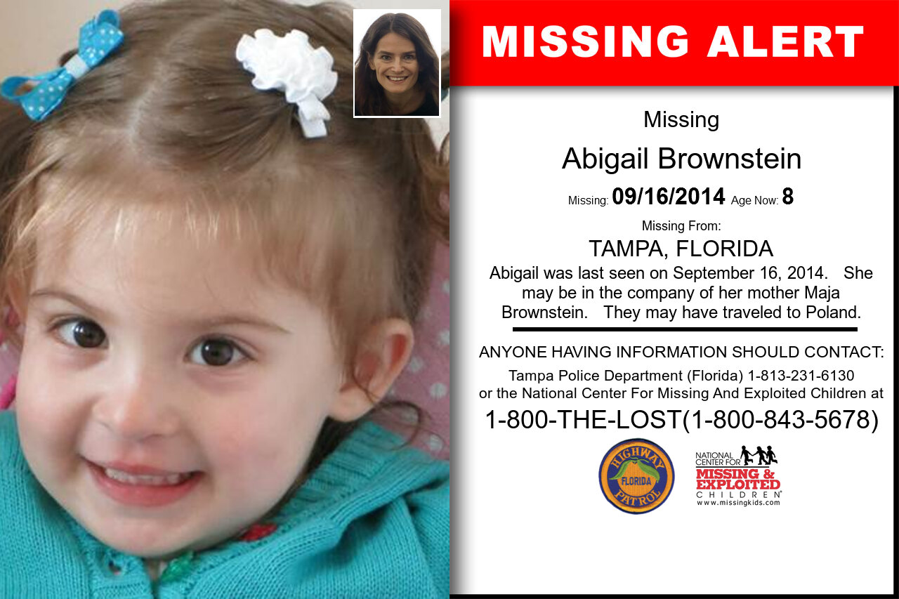 ABIGAIL_BROWNSTEIN missing in Florida