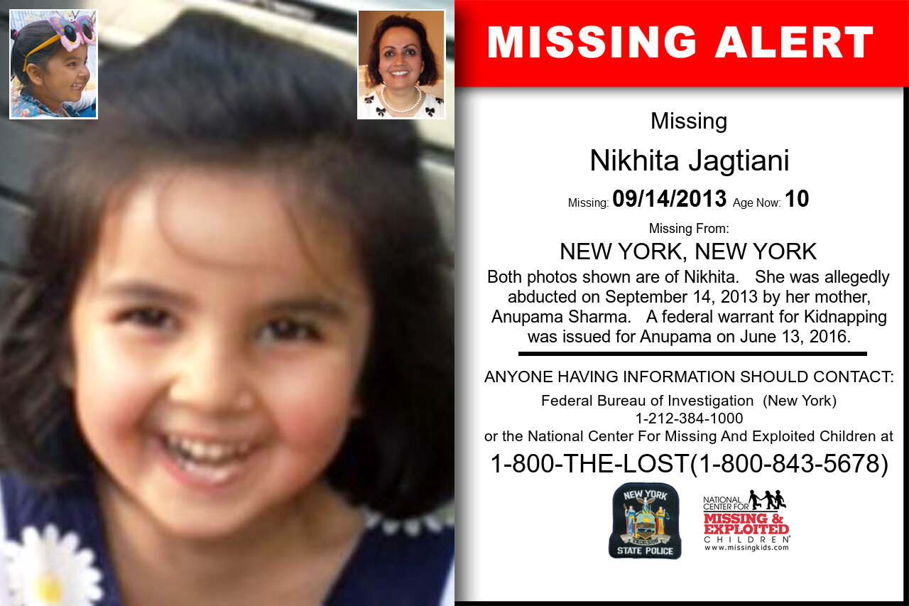 NIKHITA_JAGTIANI missing in New_York