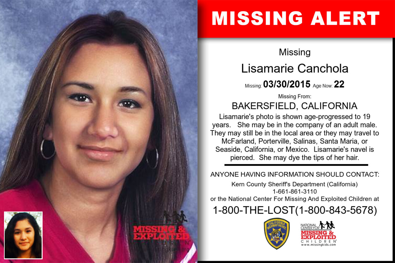 LISAMARIE_CANCHOLA missing in California