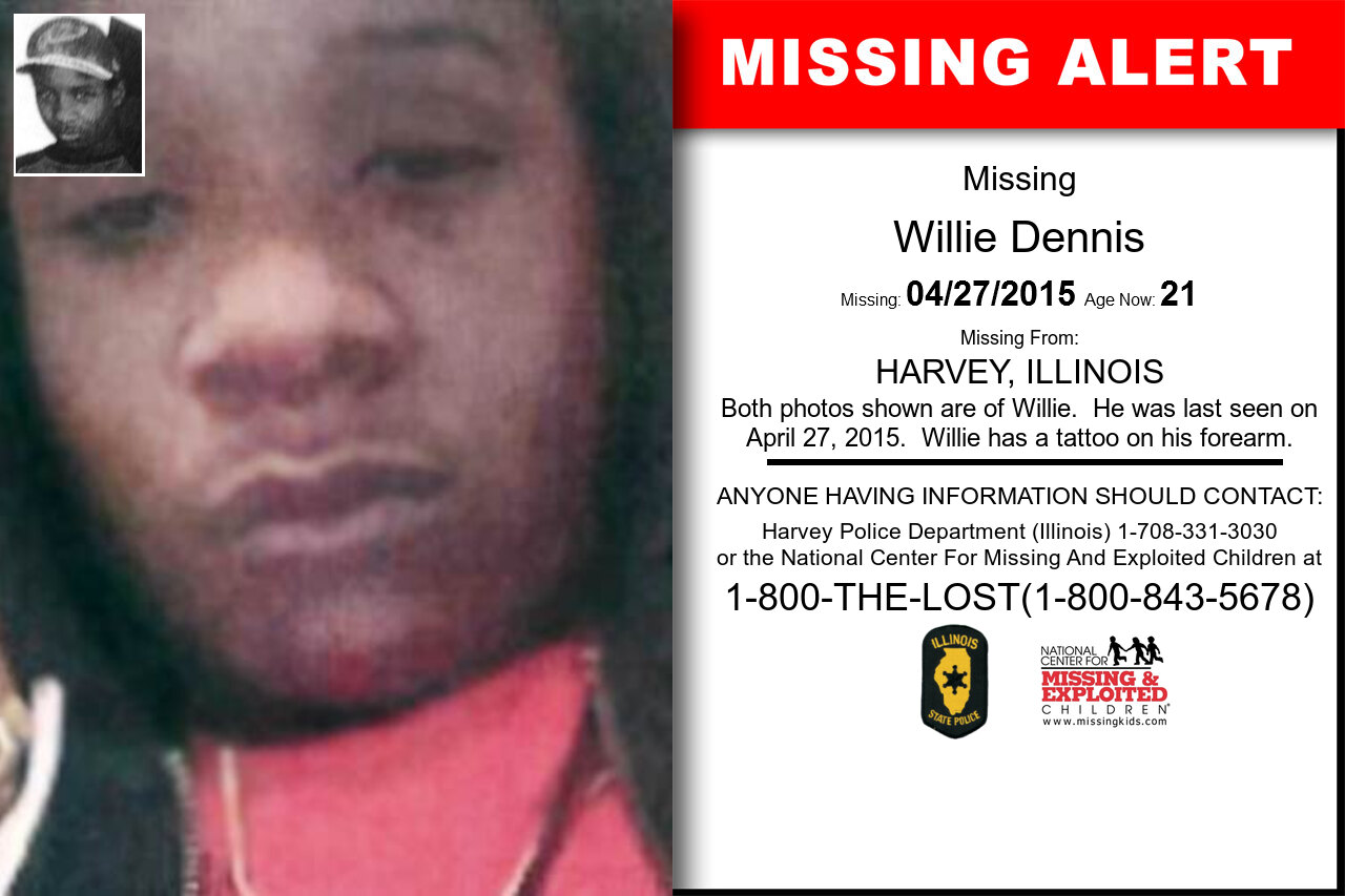 WILLIE_DENNIS missing in Illinois