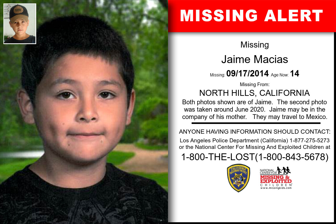 JAIME_MACIAS missing in California
