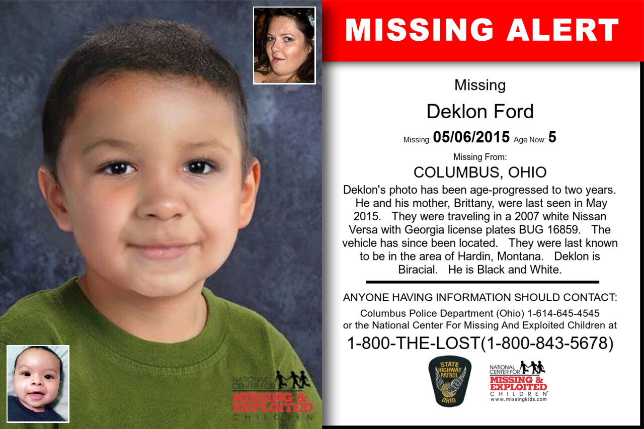 Deklon_Ford missing in Ohio