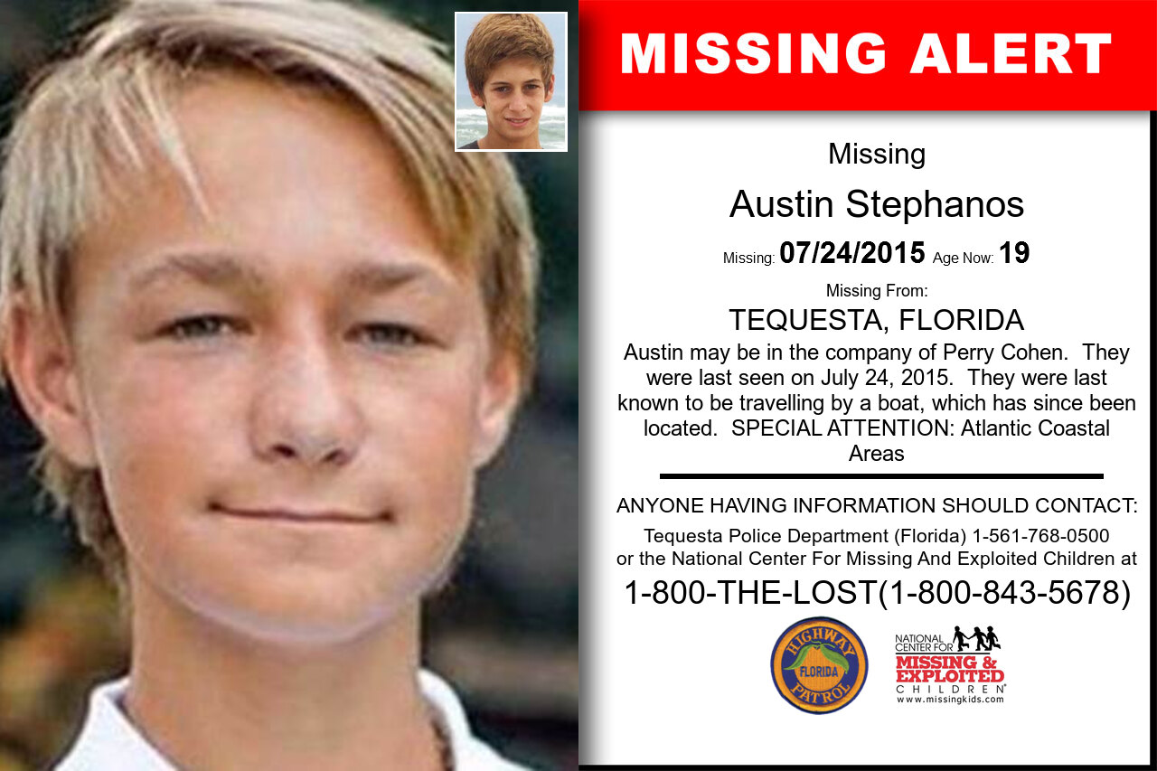 Austin_Stephanos missing in Florida