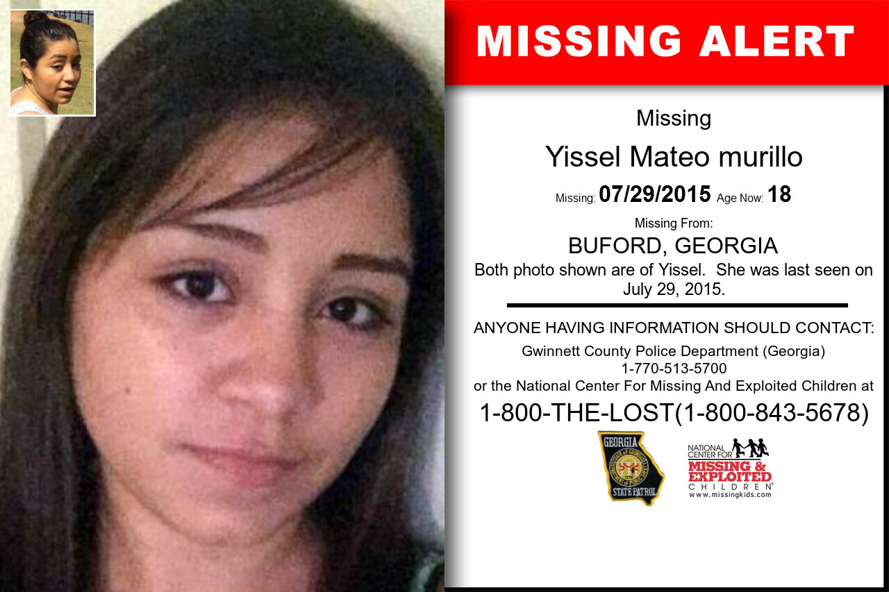 YISSEL_MATEO_MURILLO missing in Georgia