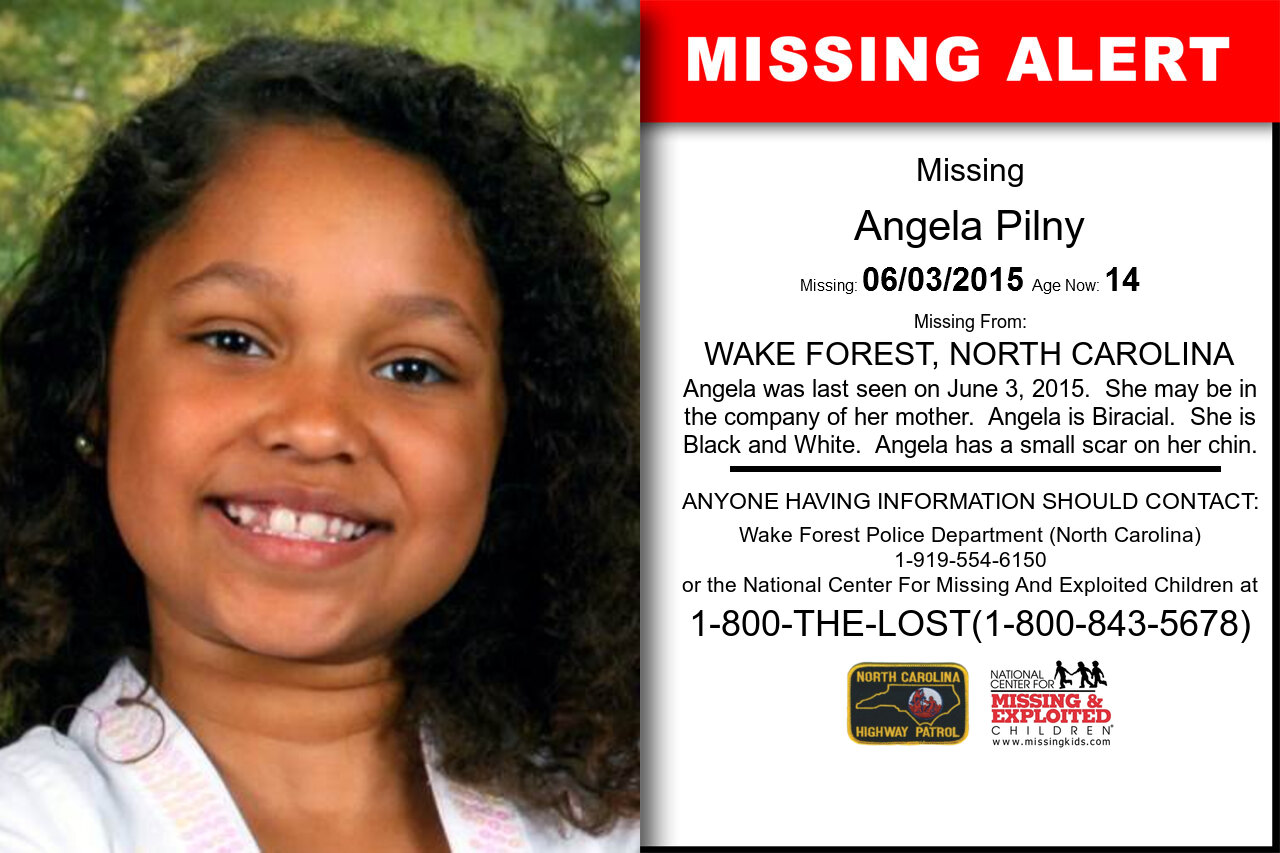 ANGELA_PILNY missing in North_Carolina
