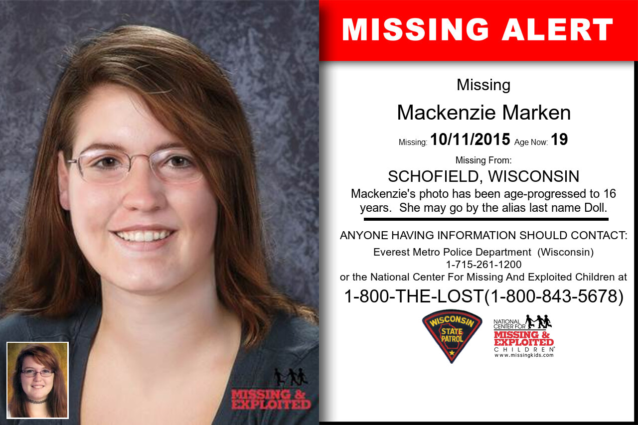 MACKENZIE_MARKEN missing in Wisconsin
