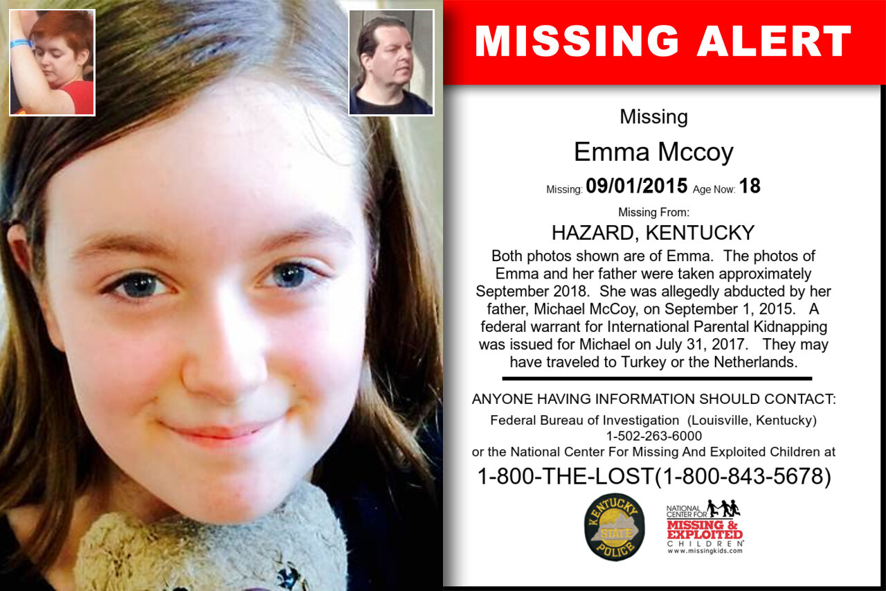 EMMA_MCCOY missing in Kentucky