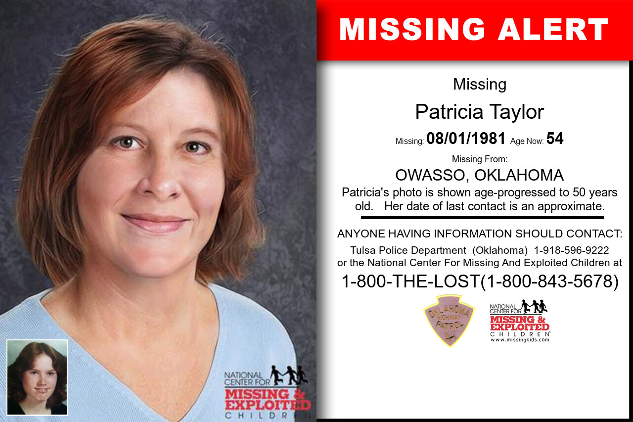 PATRICIA_TAYLOR missing in Oklahoma