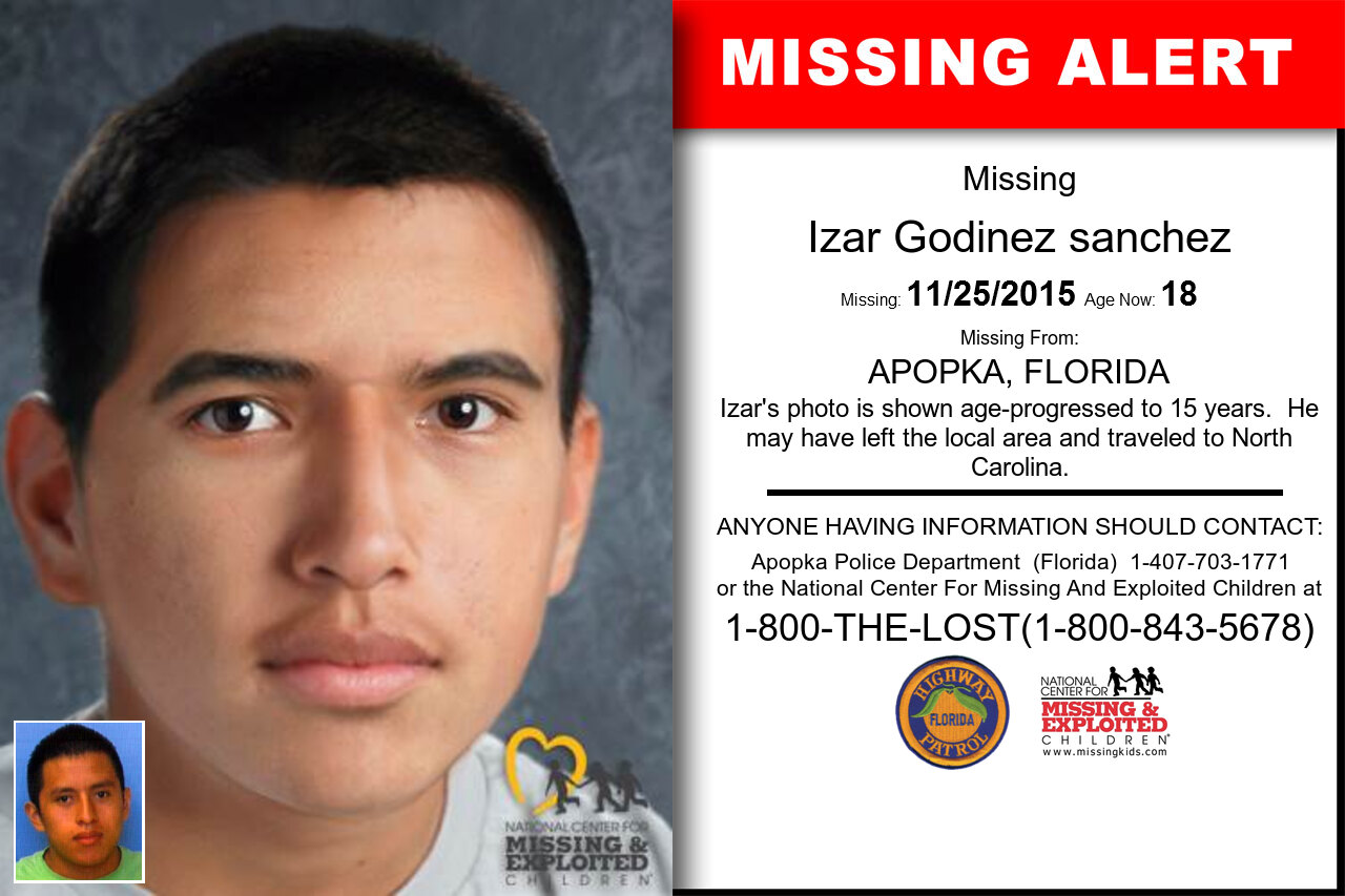 IZAR_GODINEZ_SANCHEZ missing in Florida