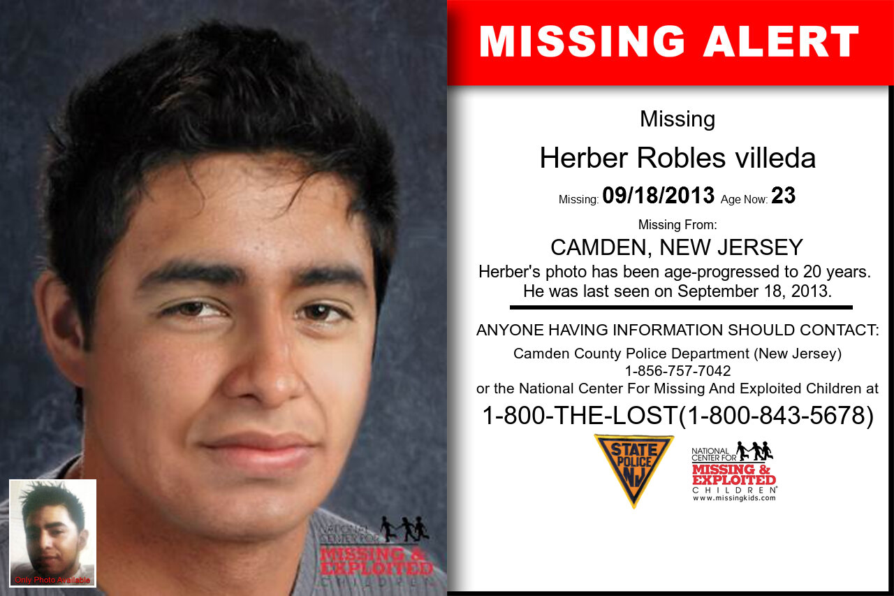 HERBER_ROBLES_VILLEDA missing in New_Jersey