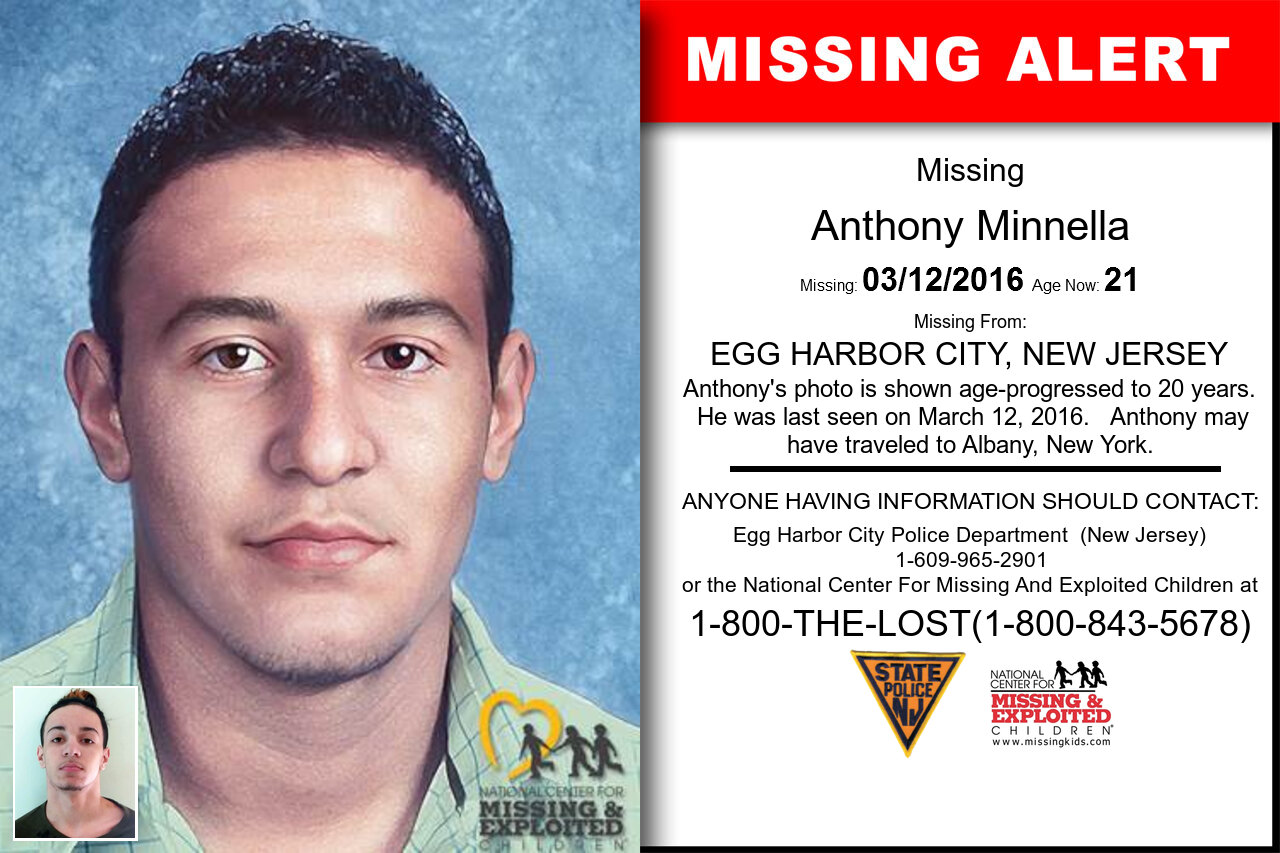 Anthony_Minnella missing in New_Jersey