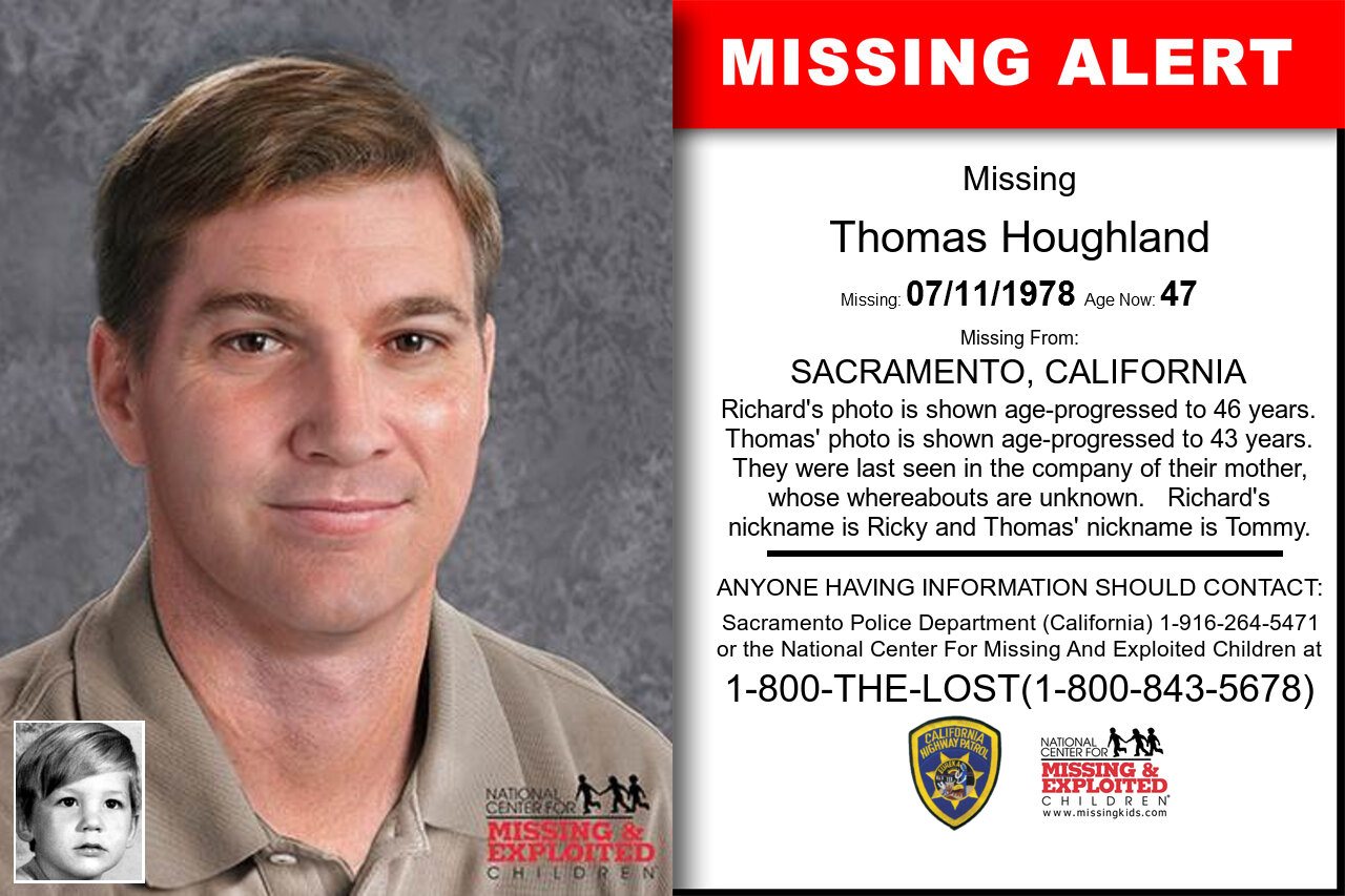 THOMAS_HOUGHLAND missing in California