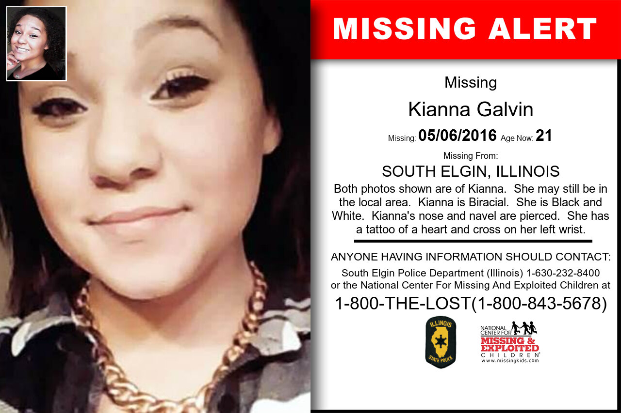 KIANNA_GALVIN missing in Illinois