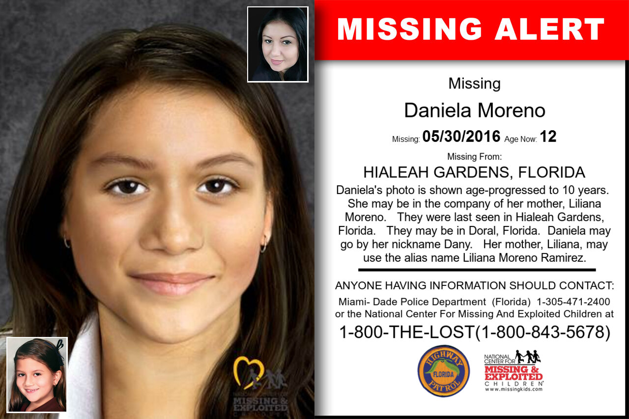 DANIELA_MORENO missing in Florida