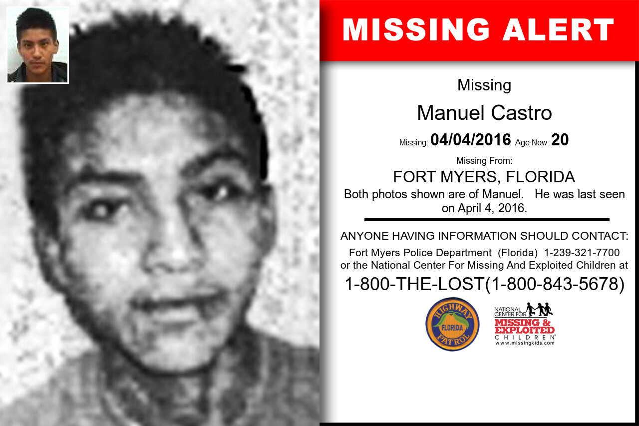 Manuel_Castro missing in Florida
