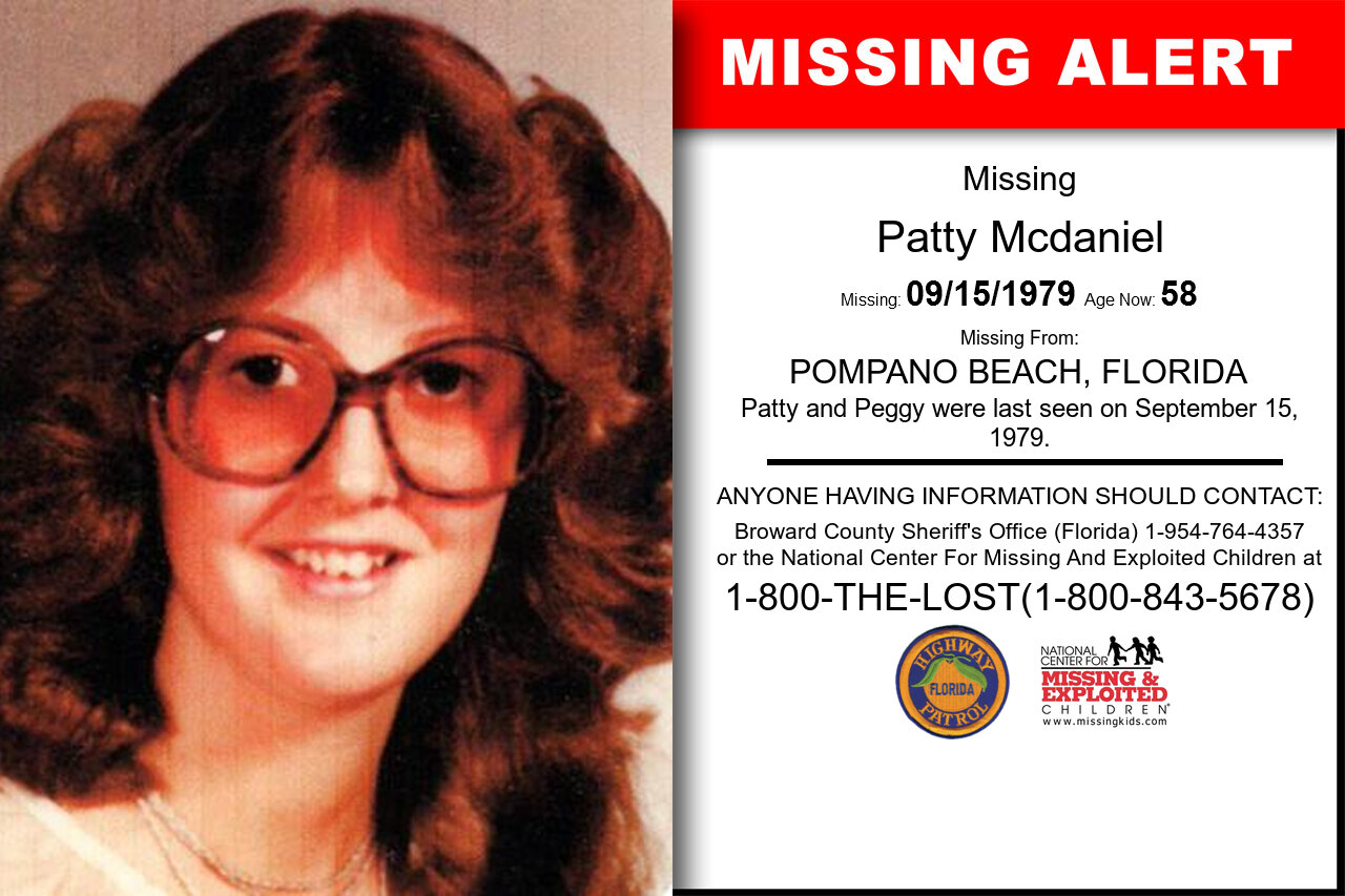 PATTY_MCDANIEL missing in Florida