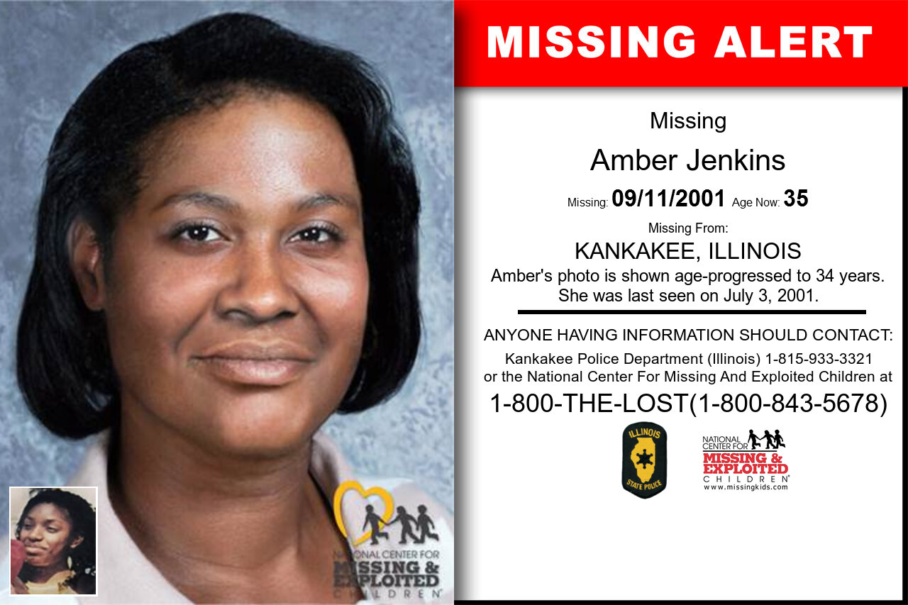 Amber_Jenkins missing in Illinois