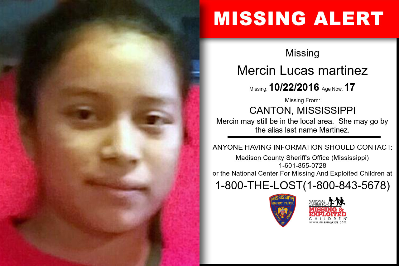 MERCIN_LUCAS_MARTINEZ missing in Mississippi