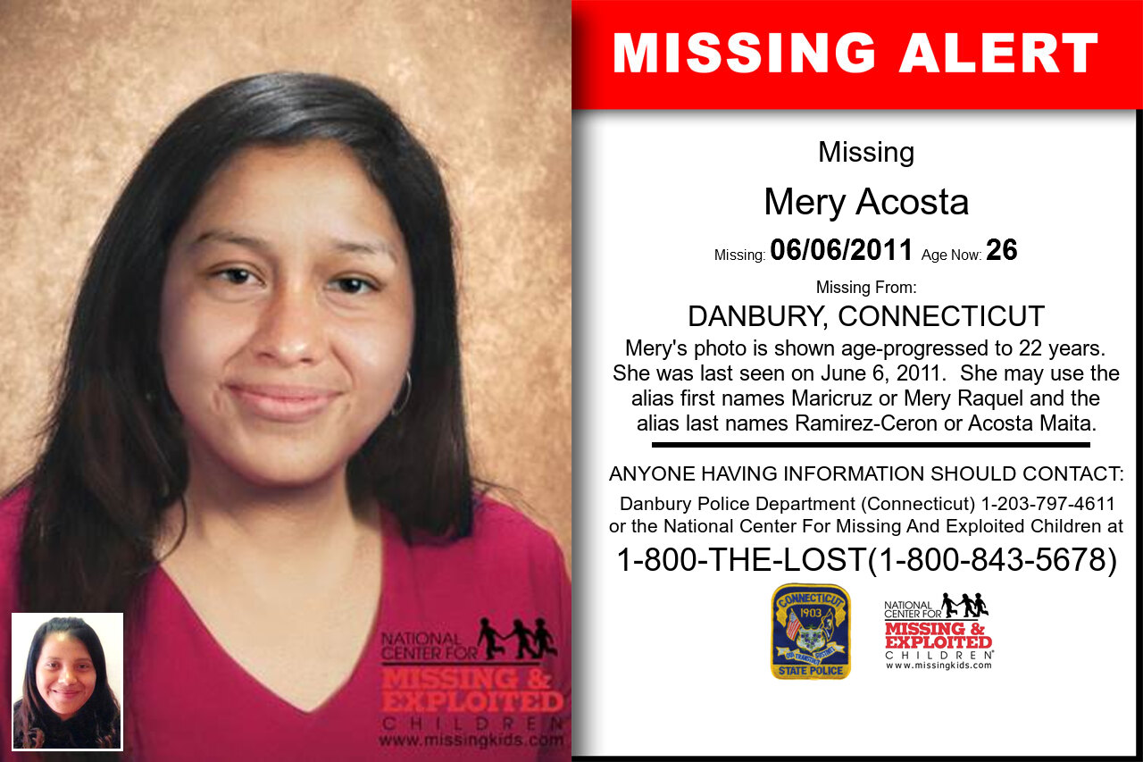 MERY_ACOSTA missing in Connecticut