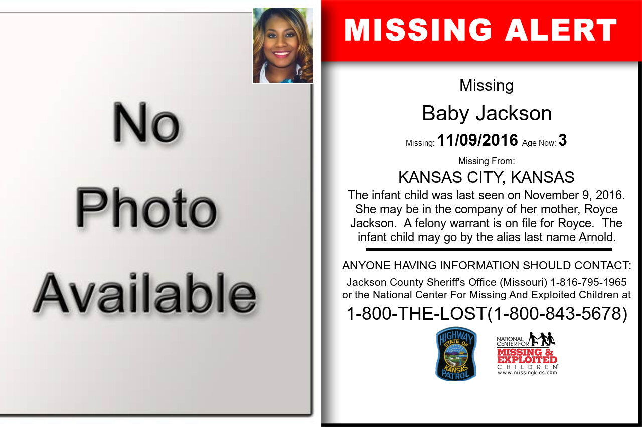 BABY_JACKSON missing in Kansas