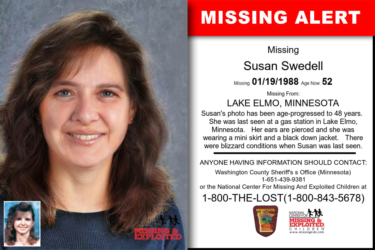SUSAN_SWEDELL missing in Minnesota