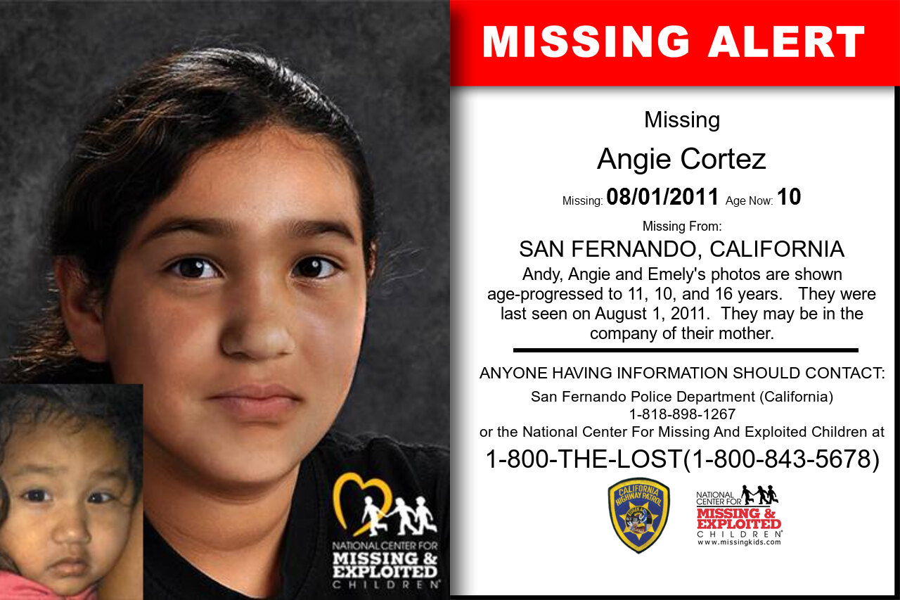 ANGIE_CORTEZ missing in California