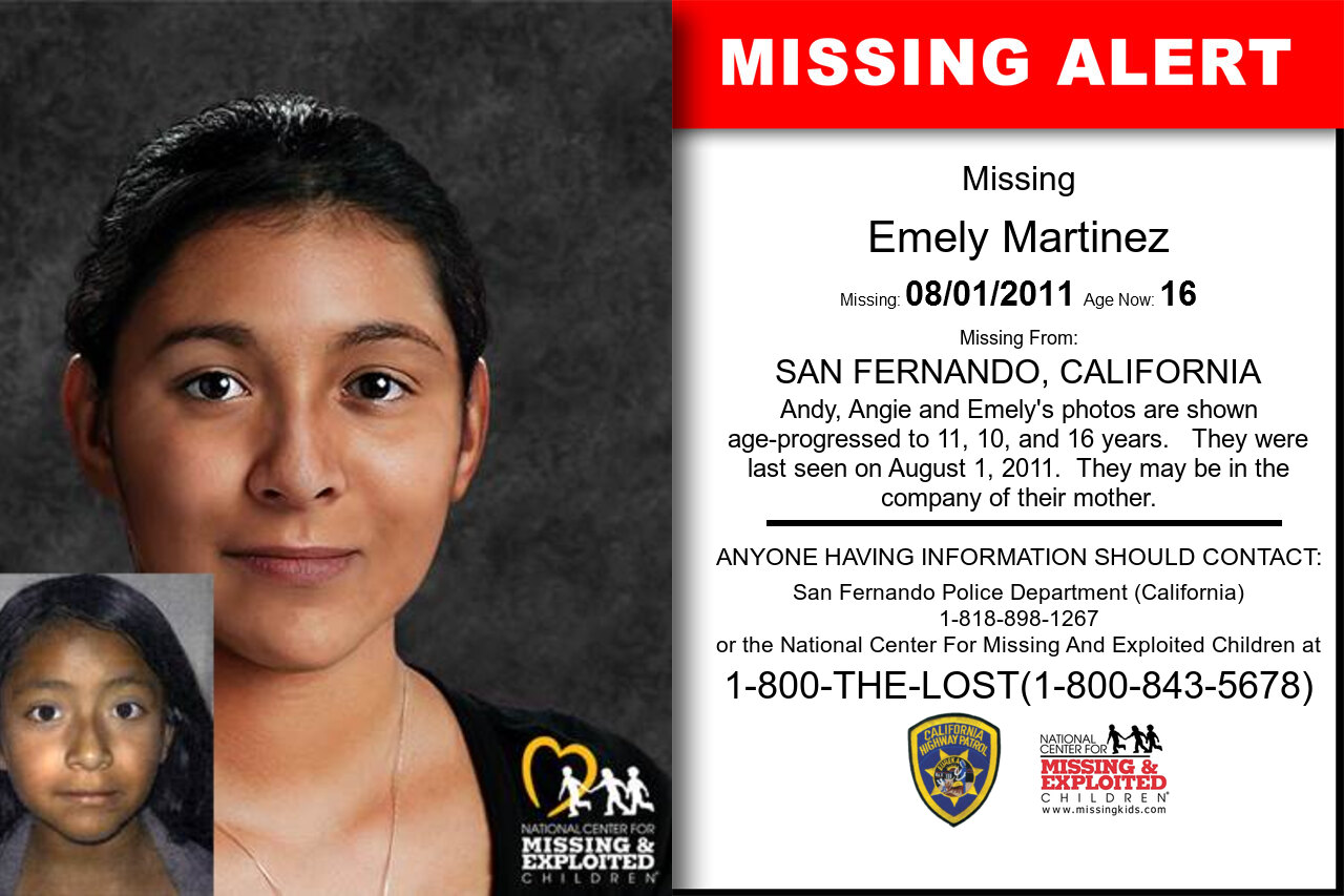 Emely_Martinez missing in California