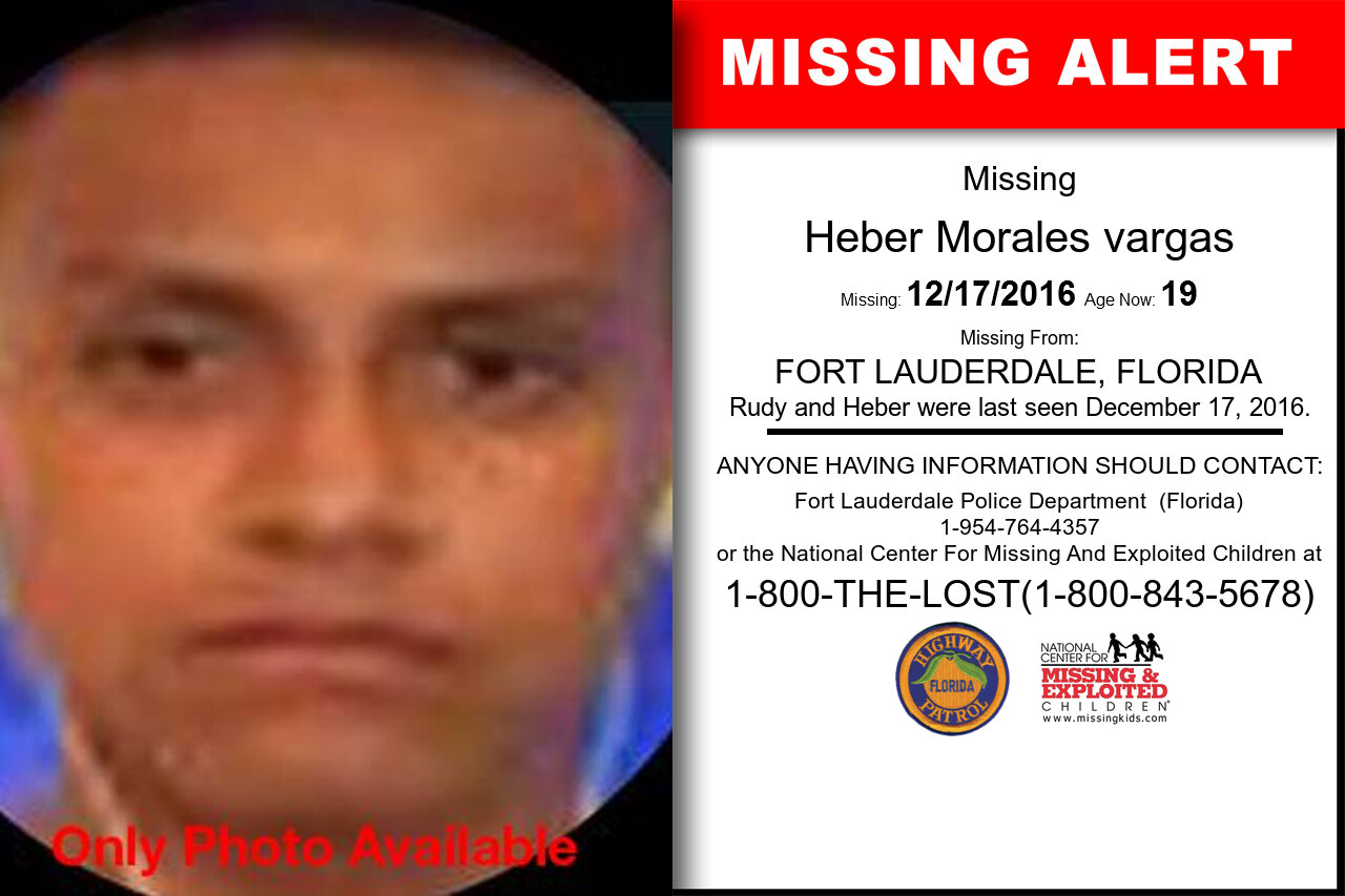 HEBER_MORALES_VARGAS missing in Florida