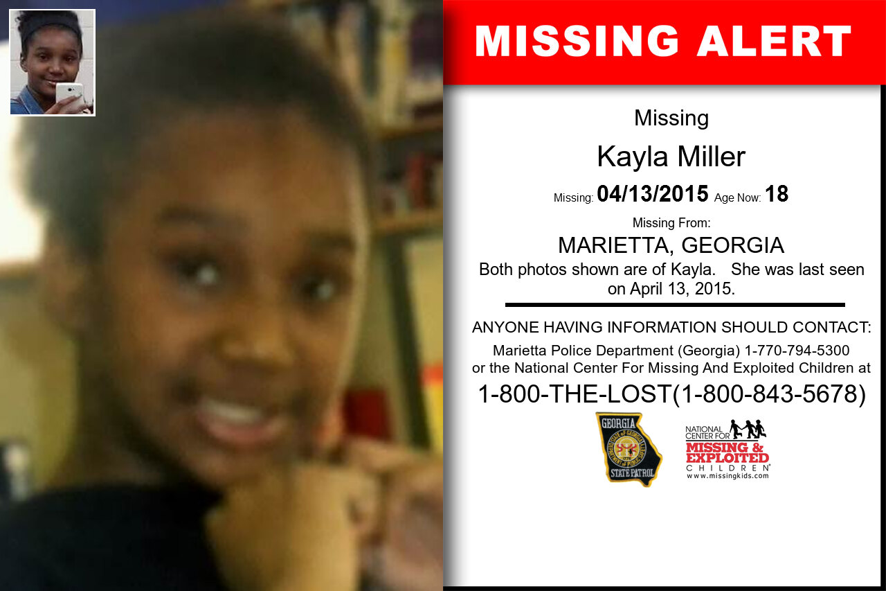 KAYLA_MILLER missing in Georgia