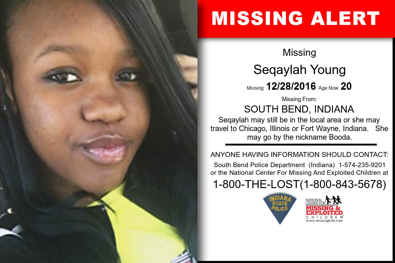 SEQAYLAH_YOUNG missing in Indiana
