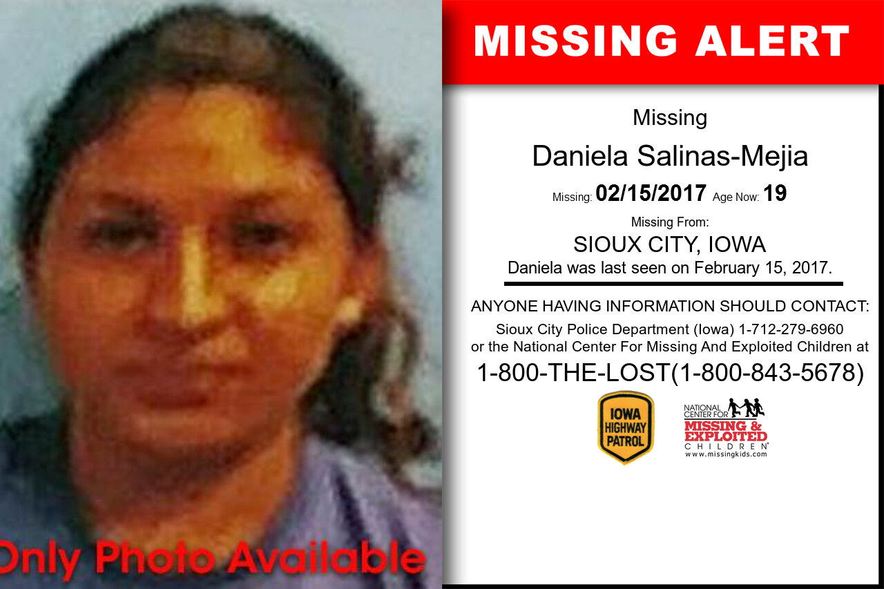 DANIELA_SALINAS-MEJIA missing in Iowa