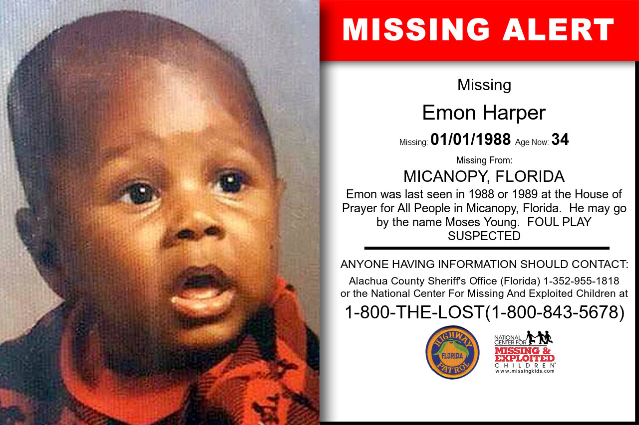 EMON_HARPER missing in Florida