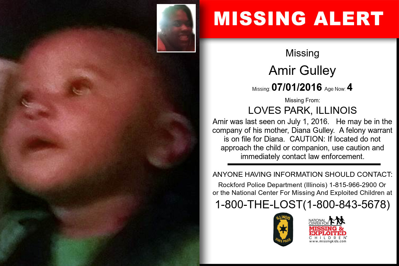 AMIR_GULLEY missing in Illinois