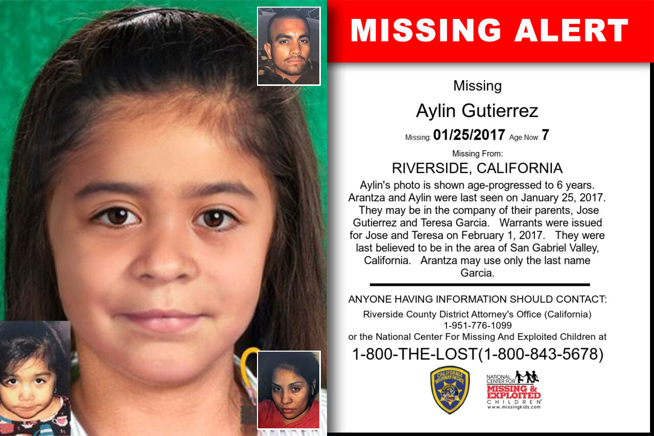 AYLIN_GUTIERREZ missing in California