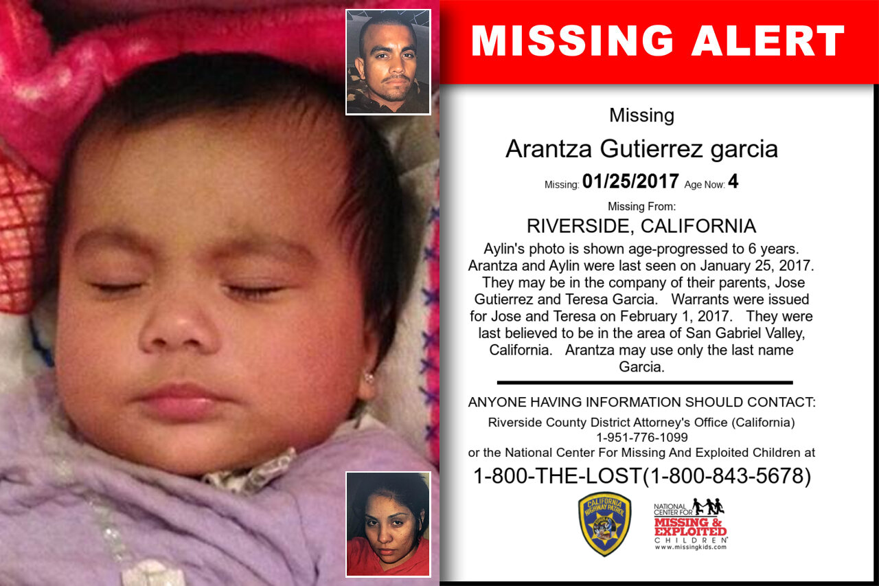 ARANTZA_GUTIERREZ_GARCIA missing in California