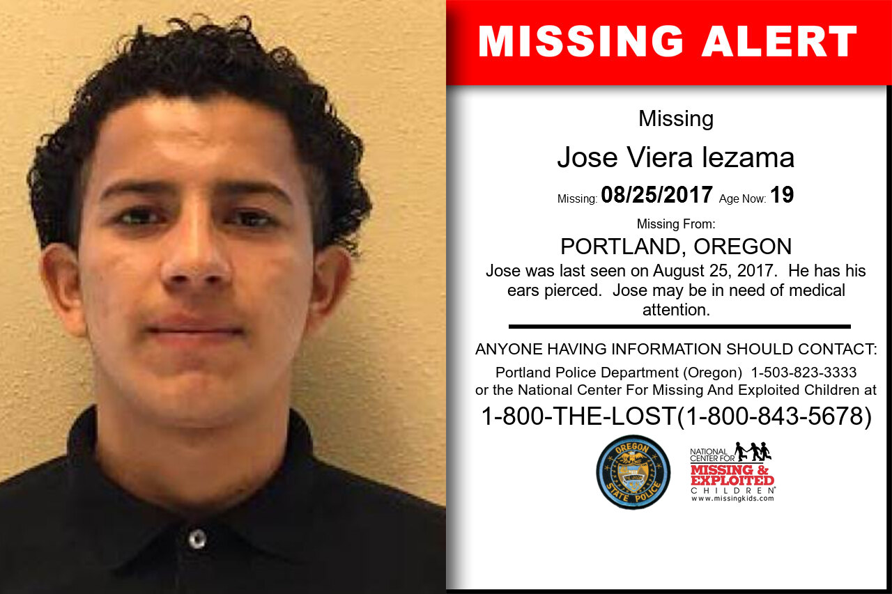JOSE_VIERA_LEZAMA missing in Oregon