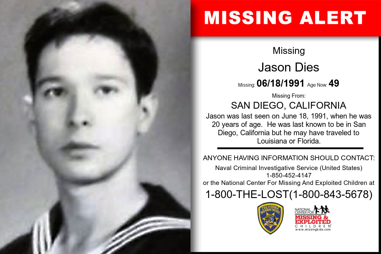 JASON_DIES missing in California